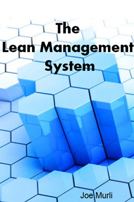 The Lean Management System