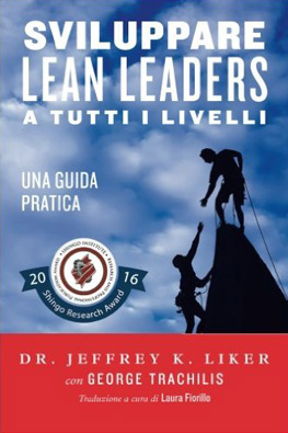 Developing Lean Leaders at all Levels in Italian