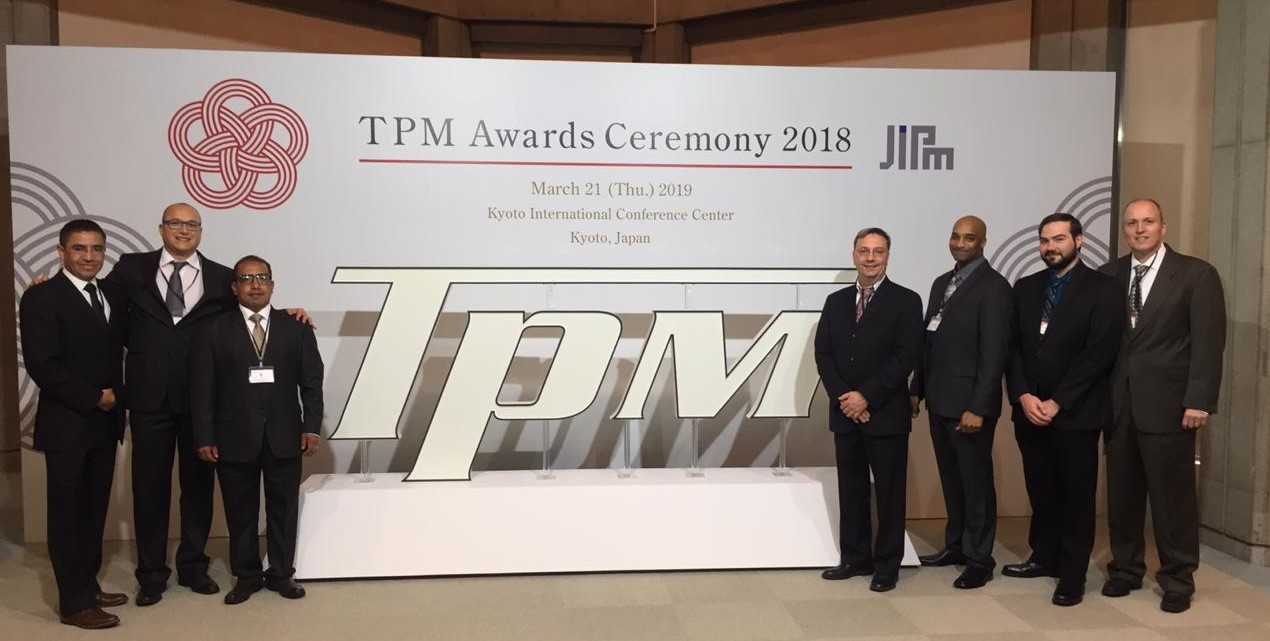 TECLA in KYOTO, JAPAN FOR THE JIPM TPM 2018 AWARDS CEREMONY